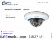 CAMERA IP ZMODO PoE DOME   |    Wifi DOME