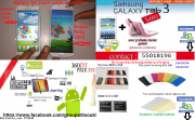 Samsung galaxy S5/note3/tab3 made by core